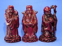 Three Gods - Feng Shui Three Deitie Fuk Luk Sau Statue