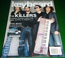 2005 Keyboard Magazine: THE KILLERS, DIROL R-1 Rec, Black Eyed Peas PRINTZ BOARD
