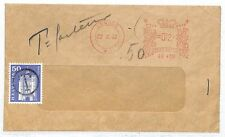 EE254 1961 SWITZERLAND Postage Stamp Used As Postage Due GB Meter Mail London