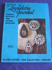 LAPIDARY JOURNAL - JEWELRY INTARSIAS - July 1981 v 34 # 4