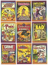 """DEFECTIVE COMICS"" COMPLETE 50 TRADING CARD SET (ACTIVE MARKETING 1993)"