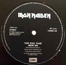 "IRON MAIDEN - The Evil That Men Do (12"")(VG/NM)"