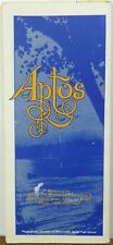 1980 Aptos California vintage Chamber of Commerce city road map brochure b