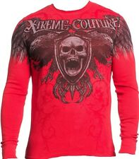 AFFLICTION Xtreme Couture XL Screaming Skull Long Sleeve T shirt NEW UFC Tee