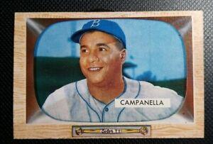 1955 Bowman #22 Roy Campanella Brooklyn Dodgers VG+/EX NO RESERVE
