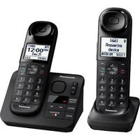 Panasonic KX-TGL432B Dect 6.0 1.9Hz 2 Handset Cordless Phone With Digital Answer