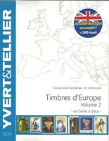 YVERT & TELLIER 2019 EUROPE TOME 2  C à G SPECIAL ANGLETERRE
