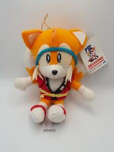 "TAILS Sonic B0402 The HedgeHog Summer Festival SEGA 1993 Plush 7"" Toy Doll"