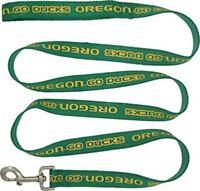 "Pets First Oregon Ducks Nylon Pet Leash; NCAA Official ; MD 5/8"" Wide x 4' Long"