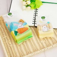 Cute Bunny Printed Easter Candy Biscuit Handmade Gifts Wrap Bags Home Decor