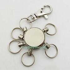 1 pcs Hook Swivel Multi Removeable Detatchable Key Ring Keychain Clip DIY Crafts