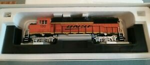 Atlas O GP60M Locomotive BNSF Swoosh # 130 - 2 Rail DC/DCC Sound-Powered O Gauge