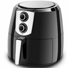 Electric Air Fryer 1800W 5.5 Quart Oil Free with Timer and Temperature Control
