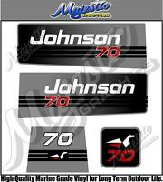 JOHNSON - 70hp - OUTBOARD DECALS