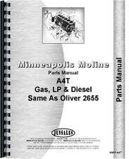 Minneapolis Moline A4t Tractor Parts Manual Catalog Oliver 2655