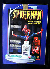 Spider-Man Gold Premiere Statue Marvel Clay Moore #248/250 signed COA 2004