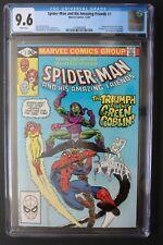 SPIDER-MAN & His AMAZING FRIENDS #1 Ice Man Goblin 1981 1st FIRE-STAR TV CGC 9.6