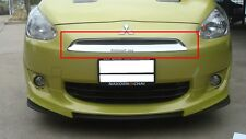 Fit For Mitsubishi Mirage 2012-2015 Chrome Front Grill Cover Trim