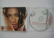NICOLE SCHERZINGER Baby love 6 -track PR0M0 CD Single slimline case