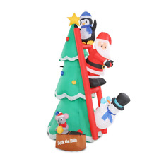 20 off Further With Pspr20 Jingle Jollys Inflatable Christmas Tree Santa 1.8m D