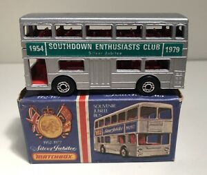 Bus Silver Jubilee Southdown Enthusiasts Club 1954-1979 - Matchbox Superfast 17