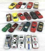 22 Lot Of Die Cast Collectible Toy Cars Hot Wheels Maisto Loose Size 1:64