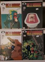 Hellhounds 1 2 3 4 Image Complete Set Series Run Lot 1-4 VF/NM