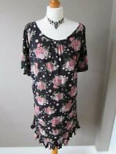 TU Short Sleeve Floral Round Neck Dresses for Women