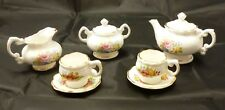 Rare Vintage Newhall Child's Tea set