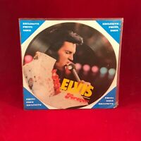 "ELVIS PRESLEY Love Me Tender 1985 Danish 7"" Vinyl picture disc single FOREVER EX"