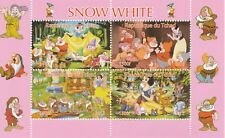 Chad 7429  - 2015 SNOW WHITE #1 perf sheetlet of 4  values unmounted mint