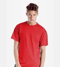 b&c Camiseta E150 s-5xl 150g / M ² Monocromo Manga Corta BASIC blanko