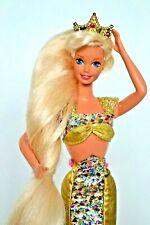 Jewel Hair Mermaid Barbie Doll, Crown,Original Mermaid Outfit,1990s,Rare Gift
