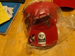 Tampa Bay Buccaneers Super Bowl LV Championship Hat/Cap Tom Brady Ring #7