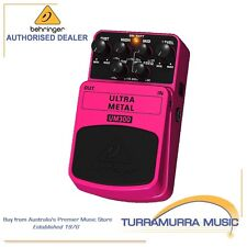 Behringer Ultra Metal Effects Pedal UM300
