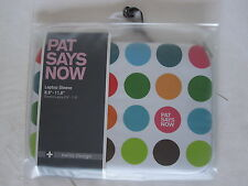 "Custodia Ipad Tablet Pat Says Now - Polka Dot - Laptop Sleeve 8,9"" - 11,6"" Cover"