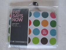 "Custodia Ipad Tablet Pat Says Now - Polka Dot - Laptop Sleeve 8,9"" - 11,6"" Cover"
