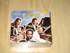 Legends Of Jazz -- 5-CD-Box -- NEU OVP -- Oscar Petersen + Thelonious Monk + ...