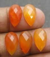 Details about  /Lovely Lot Natural Carnelian 10X12 mm Octagon Faceted Cut Loose Gemstone