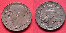 MONETA COIN REGNO ITALIA VITTORIO EMANUELE III CENTESIMI 10 IMPERO 1939 XVIIEF 1