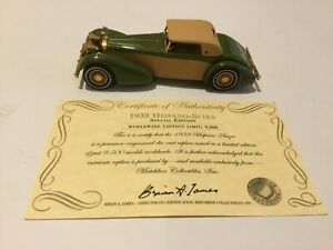 MATCHBOX YY017A/SA-M COLLECTORS LIMITED EDITION - 1938 HISPANO-SUIZA COUPE - NEW