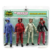 Batman Classic TV Series Action Figures: The Riddler Henchman Four-Pack