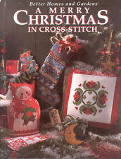 A Merry Christmas In Cross-Stitch Better Homes & Gardens Book Hardcover 1994