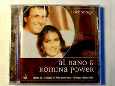 AL BANO &  ROMINA POWER  -  LOVE SONGS  -  CD 2002  NUOVO E SIGILLATO