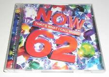VARIOUS ARTISTS - NOW THAT'S WHAT I CALL MUSIC 62 - 2005 UK DOUBLE CD ALBUM
