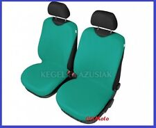 Seat Covers For Front Seats T-shirt T-type Sleeve Shirt Green Colour 100% Cotton