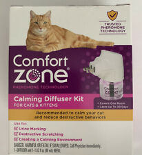 Comfort Zone Calming Diffuser Kit for Cats & Kittens
