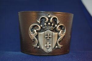 Bangle Of Leather With Emblem France