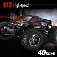 35+MPH Remote Controlled High Speed 1/12 Scale RC Car 2.4Ghz 2WD Buggy Red S035