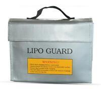 Lipo Battery Safe Fireproof Bag Explosionproof Storage Transport Charging Bag